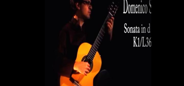 اجرای سونات دومینیکو اسکارلاتی K1 توسط بابک ولیپور 1