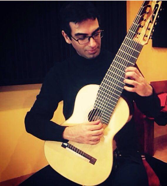 کارگاه و سمینار نوازندگی گیتار کلاسیک افشین ترابی 1