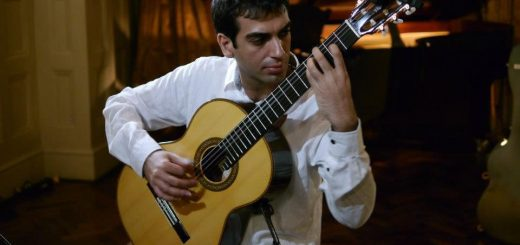کارگاه و سمینار نوازندگی گیتار کلاسیک افشین ترابی 2