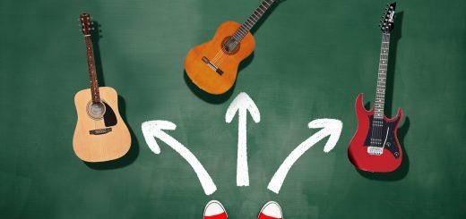 کدام گیتار را انتخاب کنم؟ آکوستیک، الکتریک یا کلاسیک؟ 3