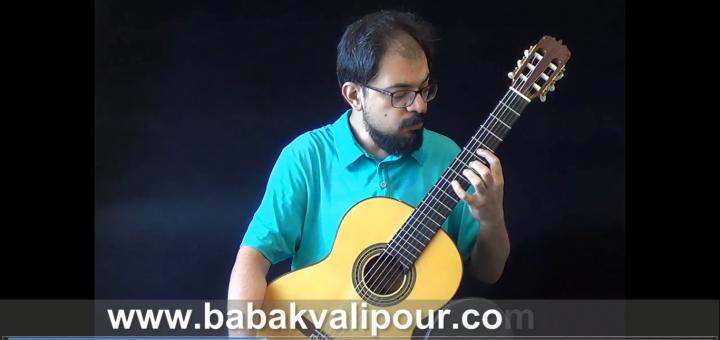 ویدیوی آموزشی گیتار گلاسیک 6