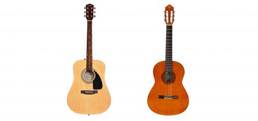 گیتار آکوستیک با سیمهای فلزی چه تفاوتی با گیتار کلاسیک یا فلامنکو دارد؟ 3