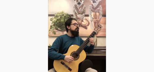 اجرای قطعه آموزشی الدورادو (El Dorado) برای گیتار کلاسیک 13