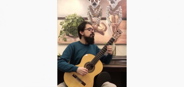 اجرای قطعه آموزشی الدورادو (El Dorado) برای گیتار کلاسیک 4