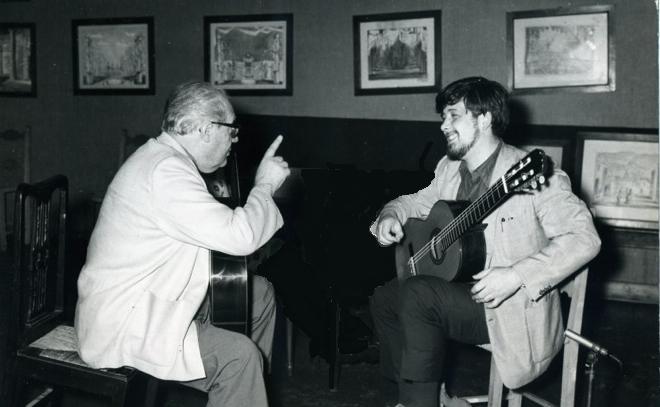 اسکار گیلیا، مدرس مشهور گیتار کلاسیک 1