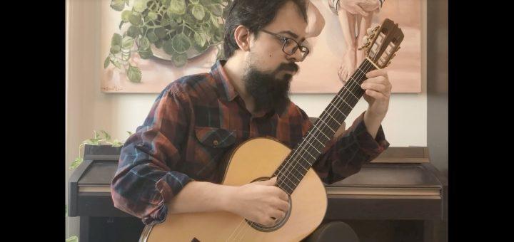 تکنوازی گیتار کلاسیک 1